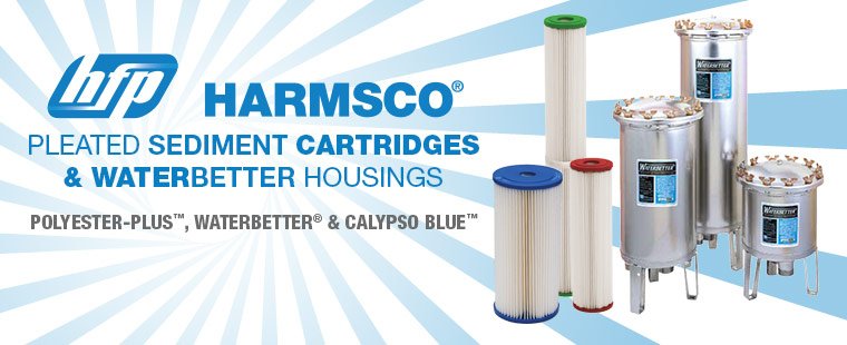 Harmsco Pleated Sediment Cartridges